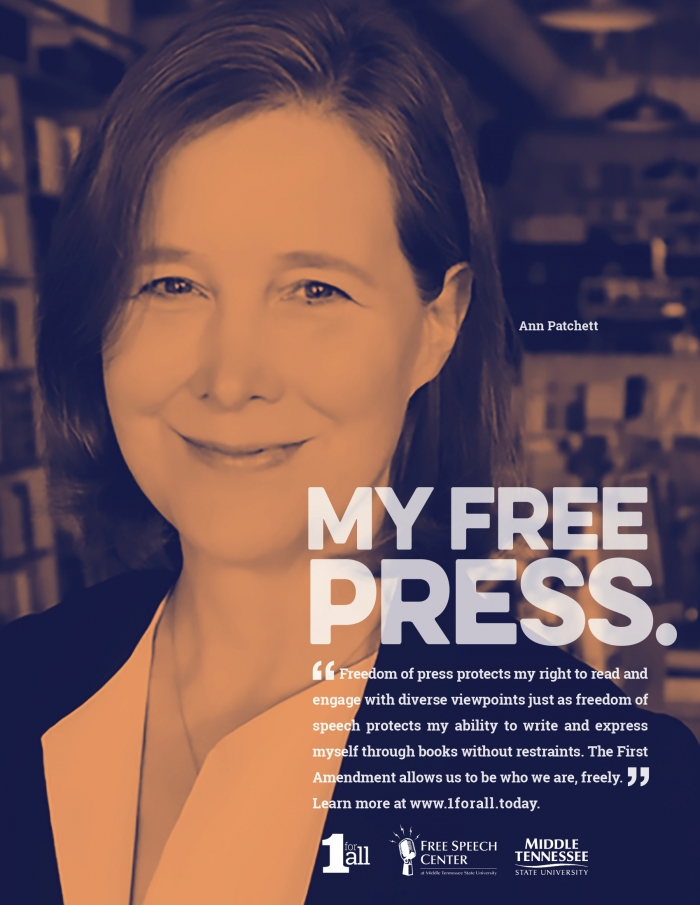 Ann Patchett ad