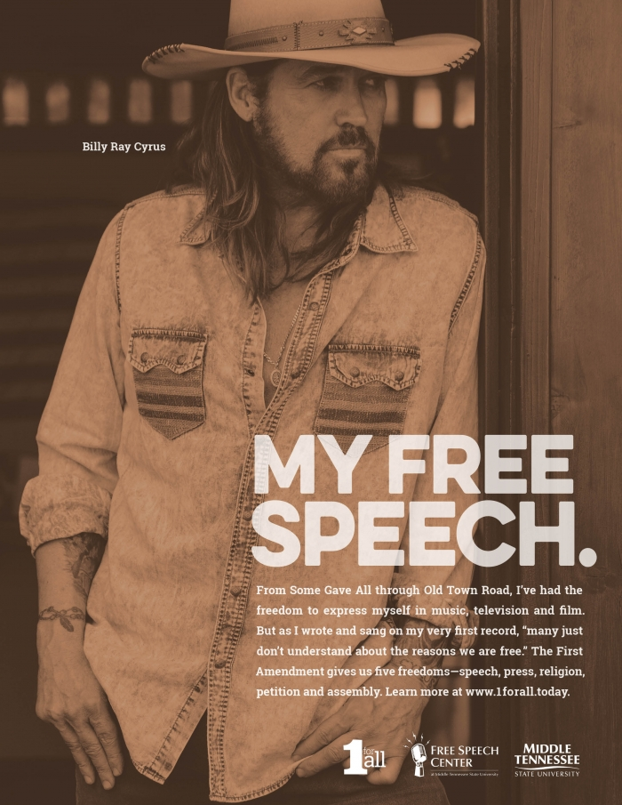 Billy Ray Cyrus ad