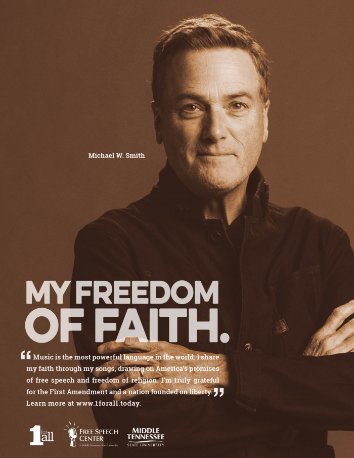 Michael W.  Smith ad