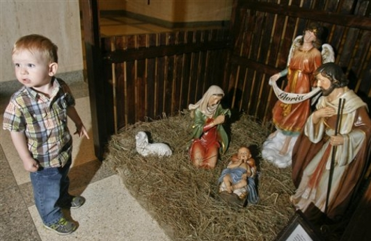 Catholic group sues beach town over ban on Nativity scene