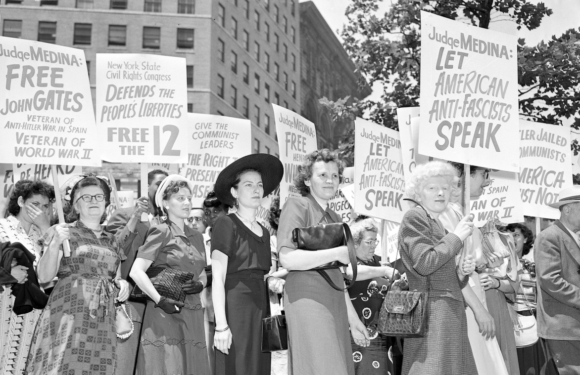 How the fight against American communism contributed to First Amendment free speech and association rights
