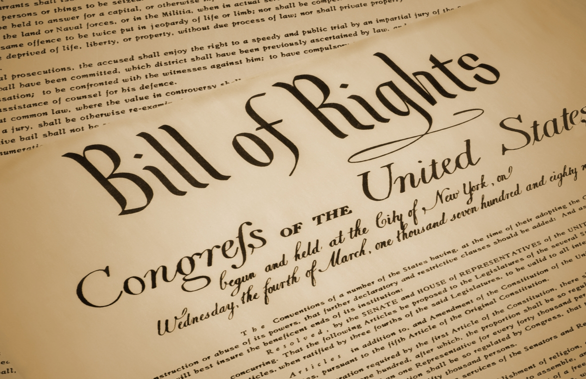Take the Bill of Rights quiz!
