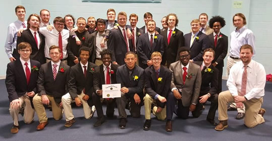 photo of Alpha Sigma Phi members