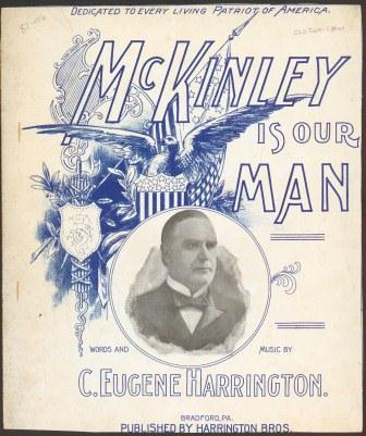 McKinley Is Our Man