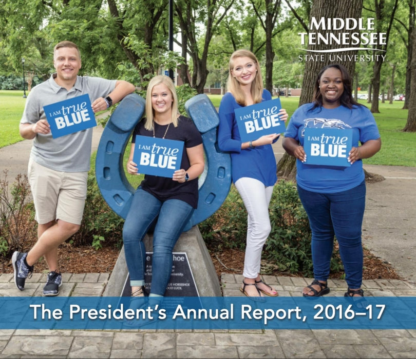 The President's Annual Report, 2016-17