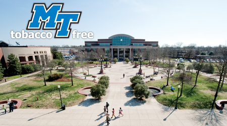 MTSU Adopts 'Tobacco-Free Campus' Policy