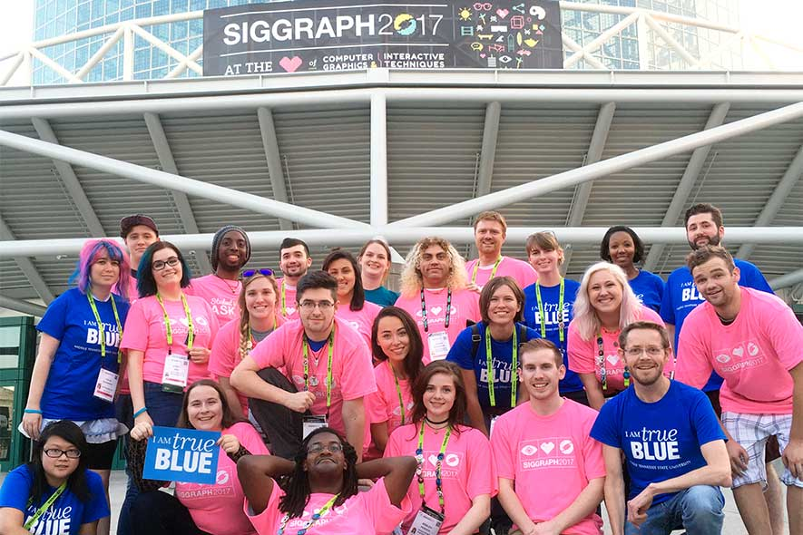 Animation students find creative outlet in ACM SIGGRAPH