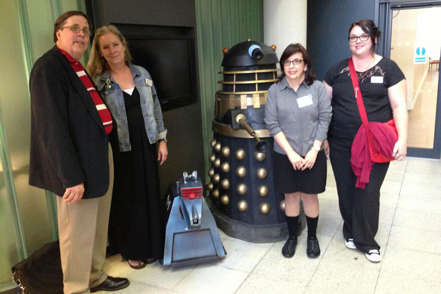 Scholars speak at Doctor Who conference