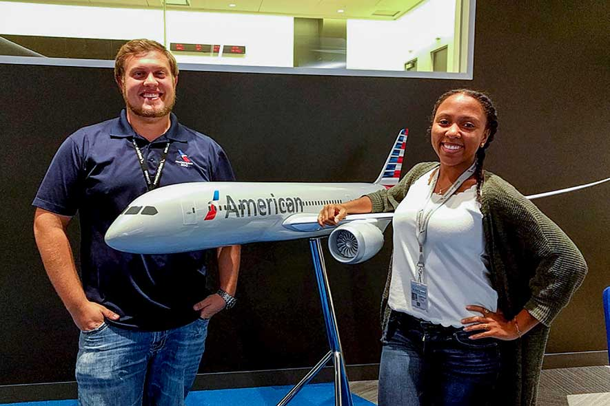 Grads enjoy the challenge and flexibility of flight dispatch