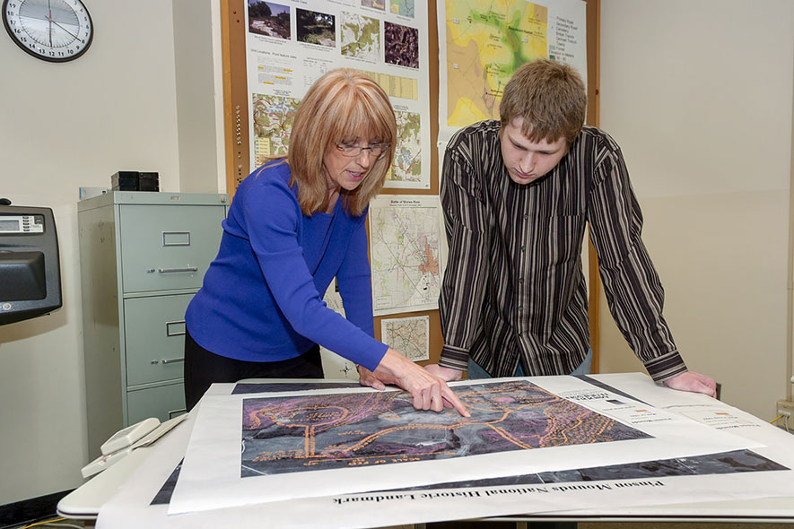 Geospatial Research Center promotes awareness, prepares grads