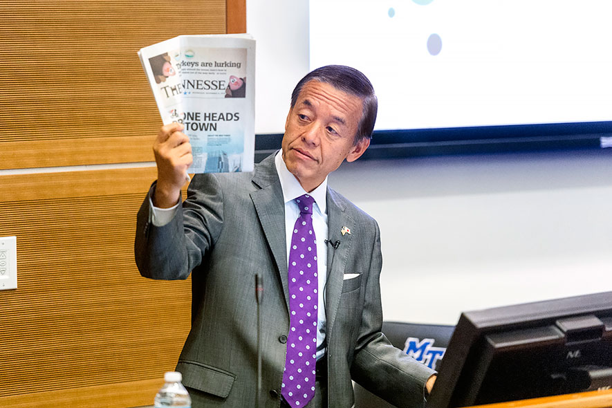 Japanese business connections strong in state, nation