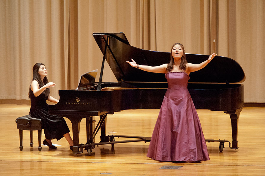 All-Steinway School a key draw in piano program