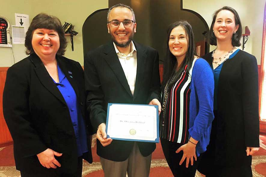 Local religious leader receives EXL Award