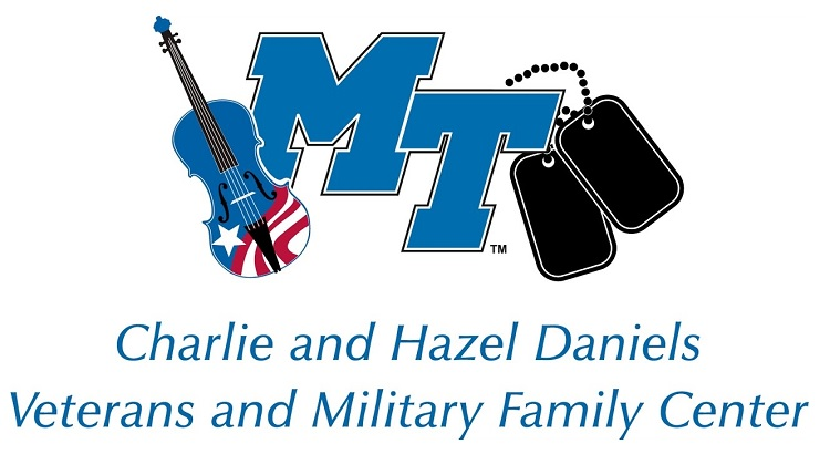 Charlie and Hazel Daniels Veteran's and Military Family Center Logo